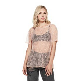LOVERS LACE TEE (ROSE CLOUD)