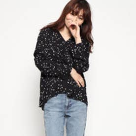 CONSTELLATION WOVEN SHIRT (BLACK)