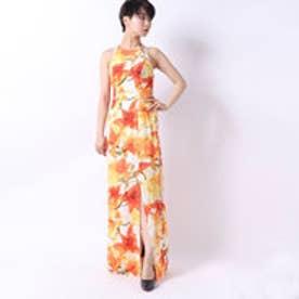 LONG FLORAL DRESS (P317)