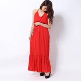 AUGUSTINA MAXI DRESS (BLOOD ORANGE)