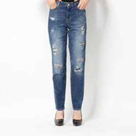1981 HIGH-RISE SKINNY DENIM PANT (BORO DESTROY)