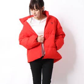 TRIANGLE LOGO DOWN JACKET (RED)