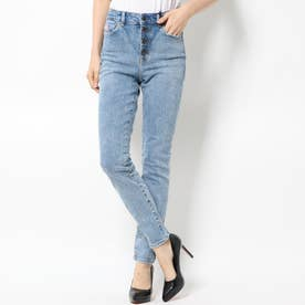 1981 EXPOSED BUTTON SKINNY DENIM PANT (ARCHIVE STRETCH)