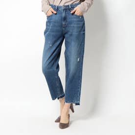 JACQUELINE RELAXED WIDE-CROPPED DENIM PANT (OCEAN DRIVE)