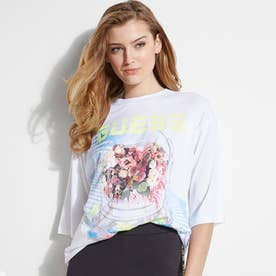 Eco Space Bouquet Graphic Tee (PURE WHITE)