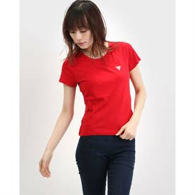 Triangle Logo Baby Tee (RUGBY RED)
