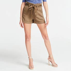 Jayne Belted Relaxed-Fit Short (ADVENTURE GREEN)