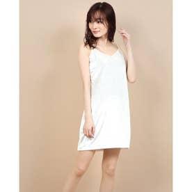 SL MARIKA VELVET DRESS (OFF WHITE MULTI)