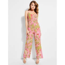 PERRIE FLORAL SLEEVELESS JUMPSUIT (P6C5)