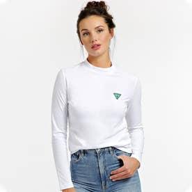 Eliza Triangle Logo L/S Tee (TRUE WHITE)