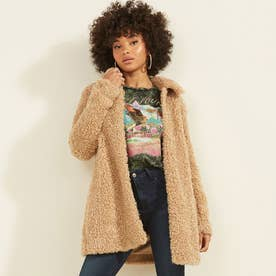 Adenora Padded Embroidery Coat (SOFT SAND)