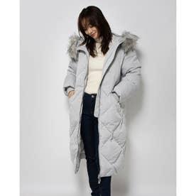 Sveva Long Jacket (MARBLE GREY)
