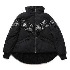 Orietta Padded Reversible Jacket (JET BLACK)