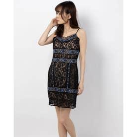 SL BINIDI EMBELLISHED DRESS (JET BLACK)