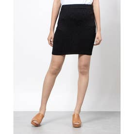 ELISA SHEEN MINI SKIRT (JET BLACK MULTI)