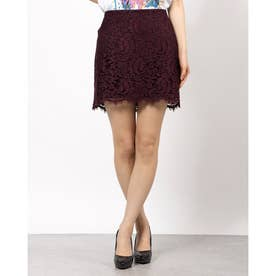 MAYA LACE MINI SKIRT (WINETASTING)