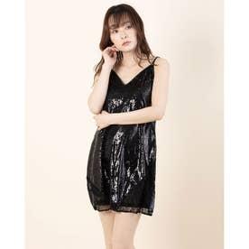 MARIAH LACE DRESS (JET BLACK MULTI)