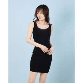 LEADING LADY BANDAGE DRESS (JET BLACK)