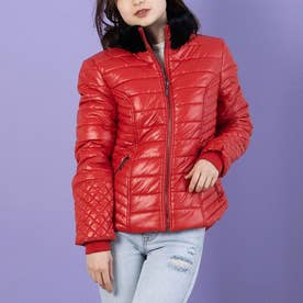 Colett Puffer Jacket (RUGBY RED)