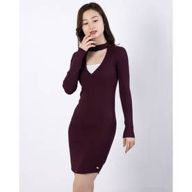 LAURA CHOKER DRESS (MARMONT RED A570)