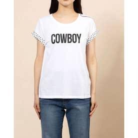 SS COWBOY TEE (BRILLIANT WHITE)