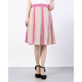 IZZY FLARED STRIPED SKIRT (F695)