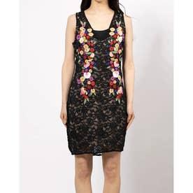 SL ROXANNE DRESS (JET BLACK)