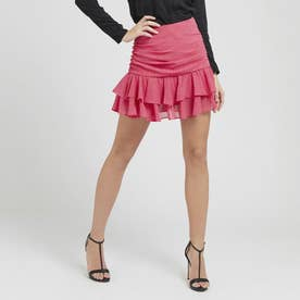 Pasqualina Dots Mini Skirt (MICRO DOTS ART PINK COMBO)