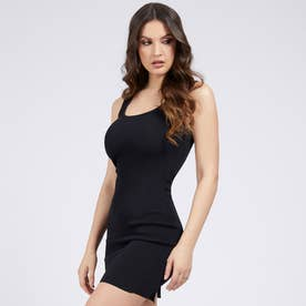 Agatha Square Dress (JET BLACK)