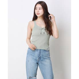 Annis Tie Top (FADED SAGE)