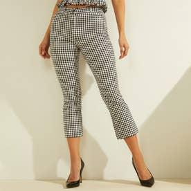 Steph Gingham Pants (BLACK & WHITE VICHY)