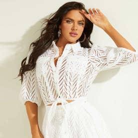 Phoebe Shirt (TRUE WHITE)