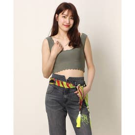 Forever Young Bandage Top (HELMUT GREEN)
