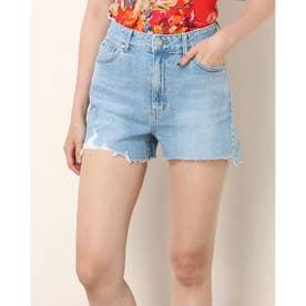 Ladies Denim Shorts Shorts (MEDIUM BLUE)