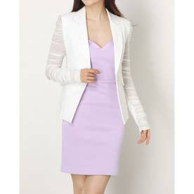 Terry Mesh Blazer (TRUE WHITE)