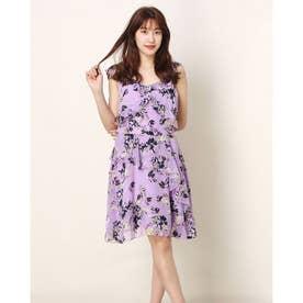 Lucia Dress (WATERCOLOR FLOWERS PURPLE COMBO)