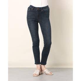 Ladies Denim Pants Slim Skinny (DARK BLUE)