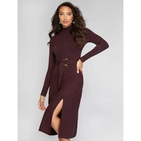 MARCIANO Skylar Sweater Dress (DARK DIVA)