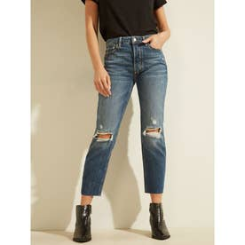 THE IT GIRL Relaxed Cut-Off Denim Pant (PACHA DESTROY)