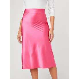 Jamie Satin Midi Skirt (G6M4)