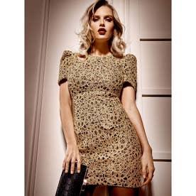 MARCIANO Jocelyn Dress (GOLD MULTI)