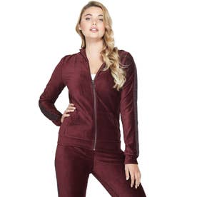 Andrea Velour Hoodie (A570)