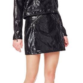 Isaac Pu Lace Skirt (JET BLACK)