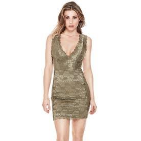 Sl Primrose Lace Galloon Dress (WARM DESERT)