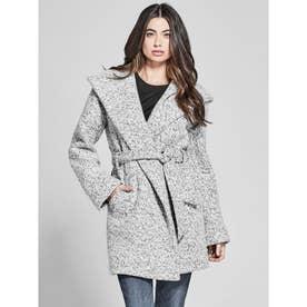 MARCIANO Sienna Boucle Coat (HEATHER GREY MULTI)