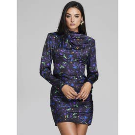 MARCIANO Dark Wonder Printed Dress (PV38)