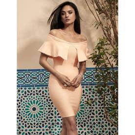 MARCIANO Izar Bandage Dress (SCALLOP SHELL)