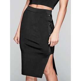 MARCIANO Mattea Sweater Skirt (JET BLACK)