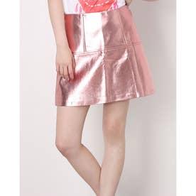 Khloe Metallic Skirt (F6C7)