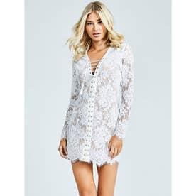 Ls Dakota Dress (BRILLIANT WHITE)